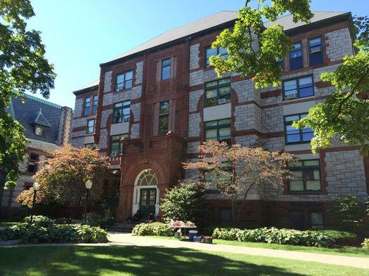 Sage Troy campus Gurley Building exterior