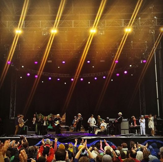 Wilco and friends Solid Sound 2015
