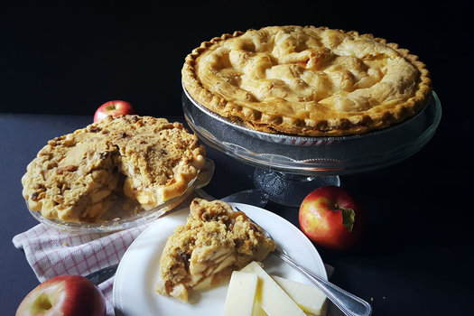baked apple pies