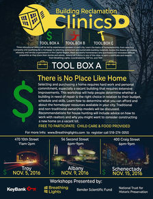 breathing lights building reclamation cinics poster tool box A