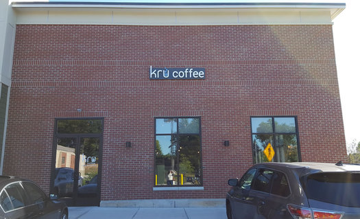 Kru coffee exterior