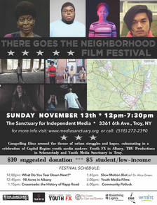 There Goes The Neighborhood Film Festival 2016 poster