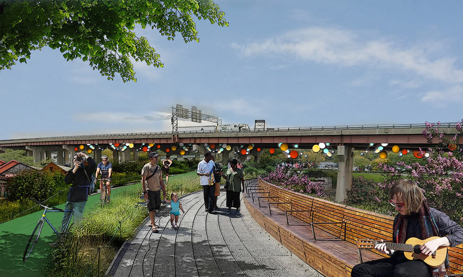 Albany Skyway rendering