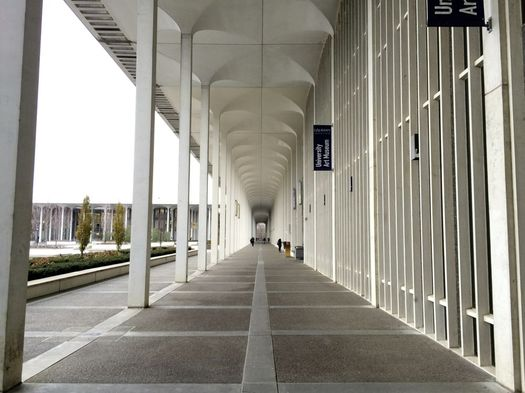 UAlbany uptown campus columns