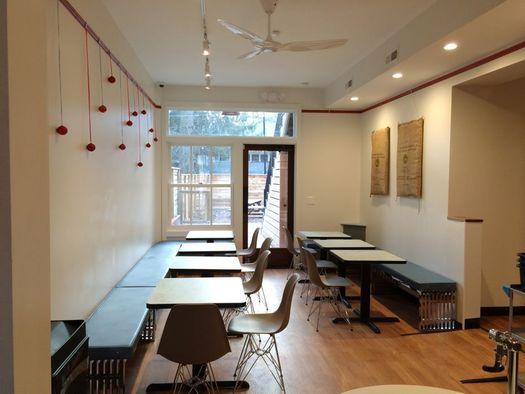 3 Fish Coffee interior