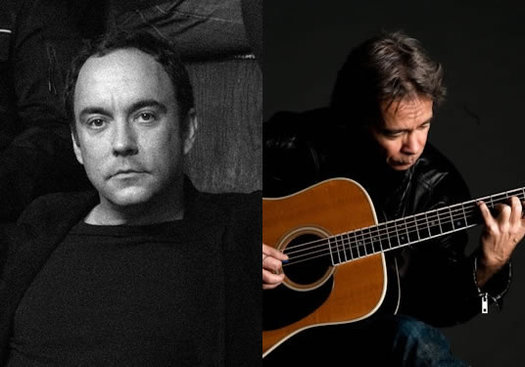 Dave Matthews and Tim Reynolds composite
