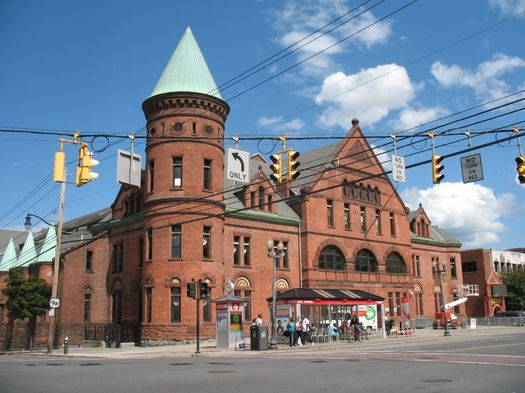 Washington Ave Armory Albany exterior