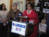 Carolyn McLaughlin Albany mayoral race announce