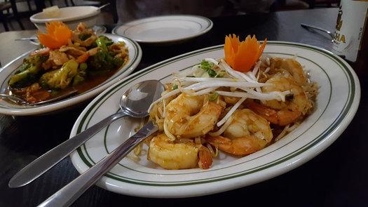 celadon thai latham shrimp