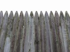 wood stockade style fence