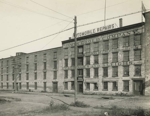 James Goold Company building Albany undated