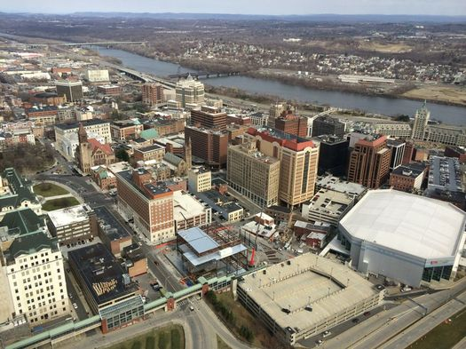downtown Albany from Corning Tower 2016-March