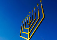menorah blue sky background Flickr Ted Eytan CC