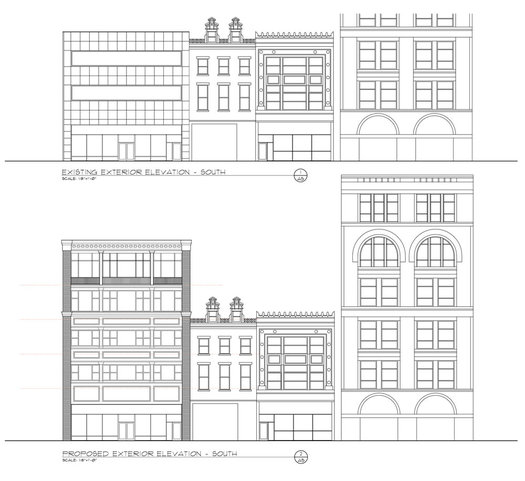 48 North Pearl proposed elevation 2017-March-16 planning board