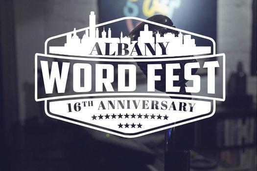Albany Wordfest 2017 logo