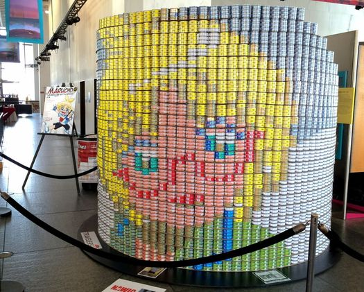 Canstruction Marucho