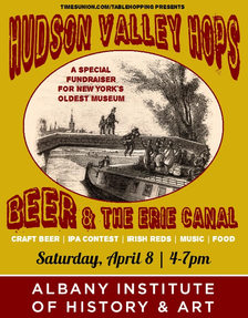 Hudson Valley Hops 2017 poster