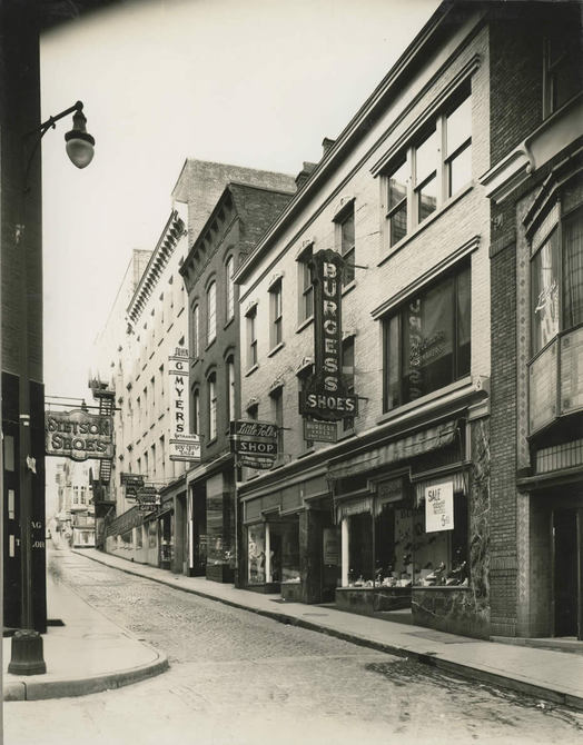 Maiden Lane Albany old photo