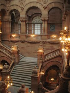 NYS Capitol Great Western Staircase vertical