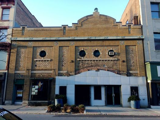 Troy American Theater building exterior 2017-January