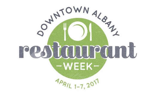 downtown Albany restaurant week 2017-April_logo