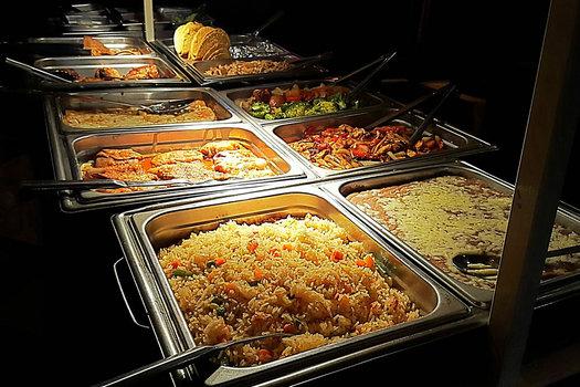 salsa latina buffet