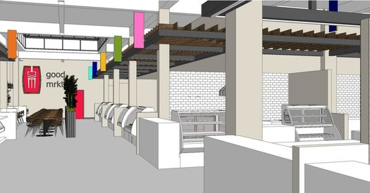 Good Market rendering interior 1