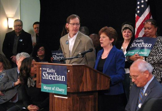 Kathy Sheehan mayoral announcement 2017