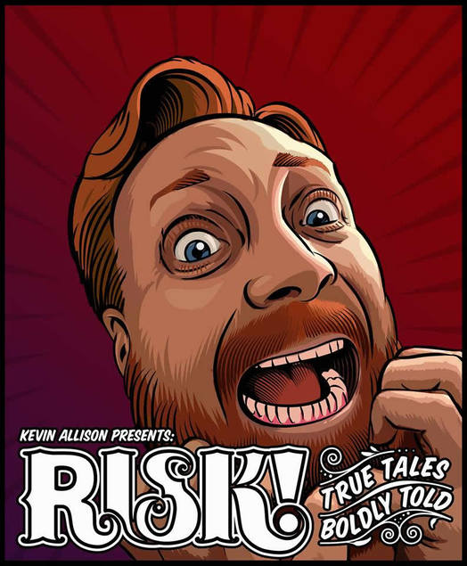 Risk podcast show poster