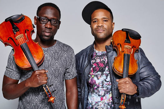 music duo Black Violin