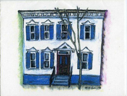 sylvie briber house illustration