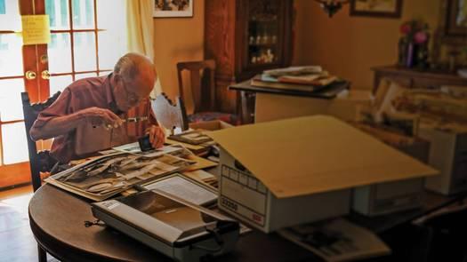 WMHT William Kennedy documentary still