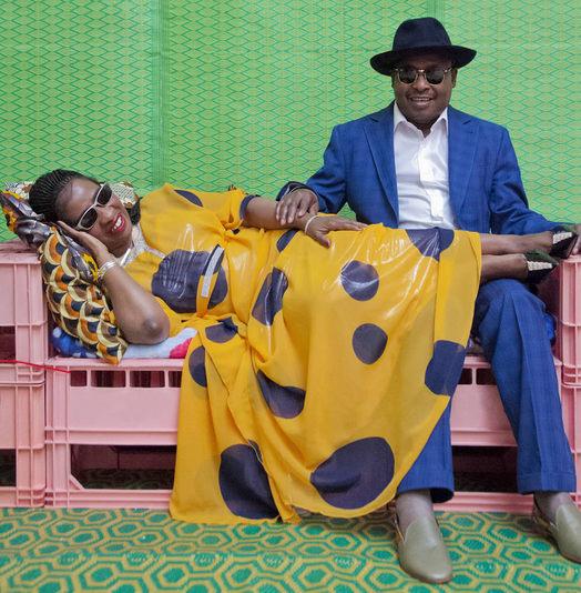 musicians Amadou Mariam