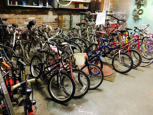 troy bike rescue bikes