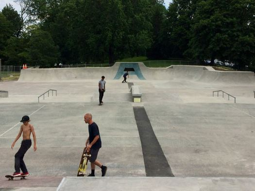 Albany skate park finished 2017-06-23