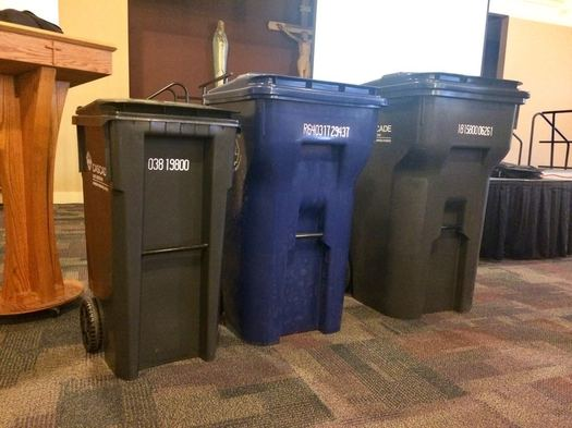 Albany trash planning meeting 2017-05-24 trash totes