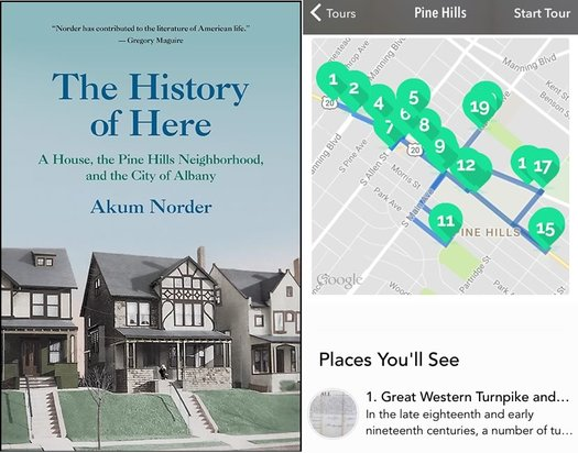 History of Here cover Pine Hills walking tour app
