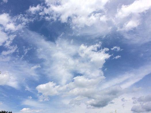 clouds over Delmar 2017-06-22