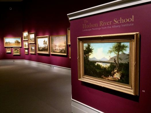 Albany Institute Hudson River School exhibit