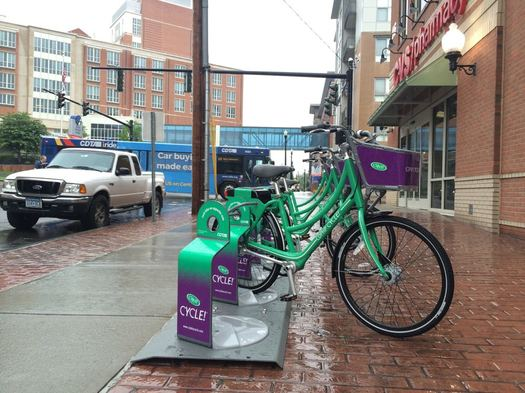 bike share near Albany Med