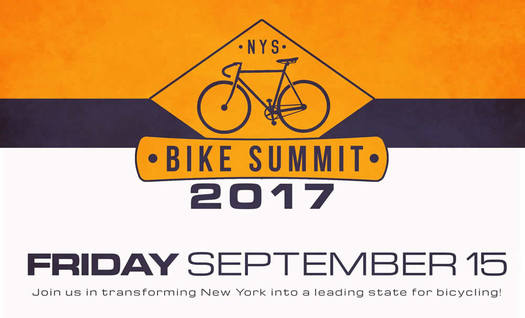 New York State Bike Summit logo 2017