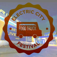 electric city food truck festival logo
