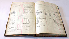 old accounting ledger CC