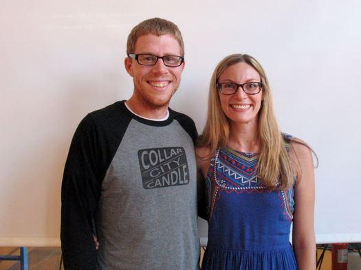 AOA Startup Grant 2016 winners Josh and Jamie Wallbank