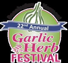 Bennington Vermont Garlic Fest logo 2017