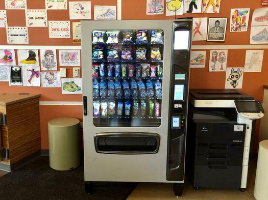 Capital Roots healthy vending machine