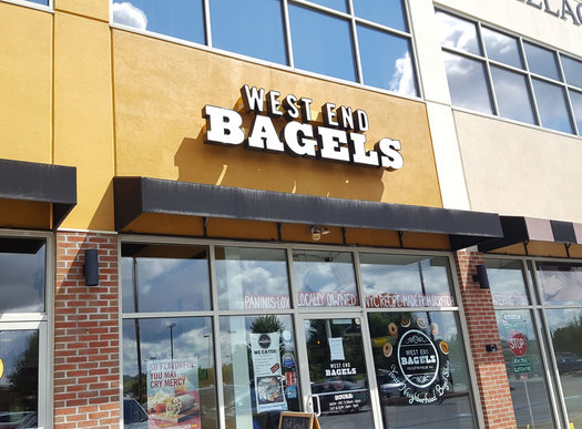 West End Bagels Clifton Park exterior 2017-August