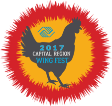 capital region wingfest 2017 logo