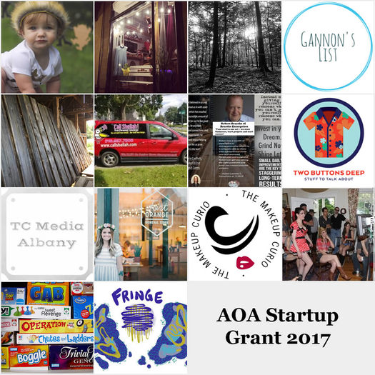 AOA Startups 2017 applicants poster billboard