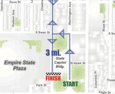 Albany Last Run 2017 course map clip